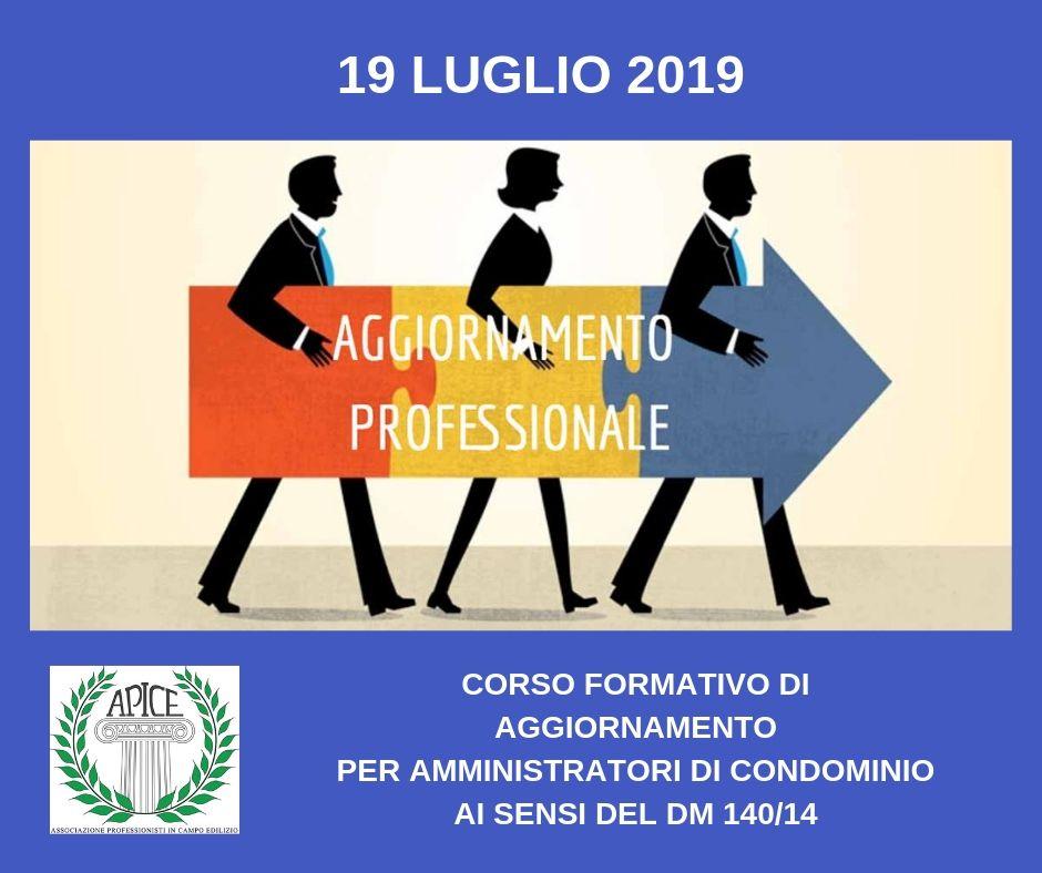Corso formativo di aggiornamento amministratori di condominio Apice Italia